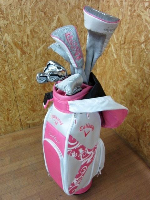 神奈川県 大和市にて キャロウェイ Solaire/ソレイル レディースゴルフクラブセット を出張買取しました