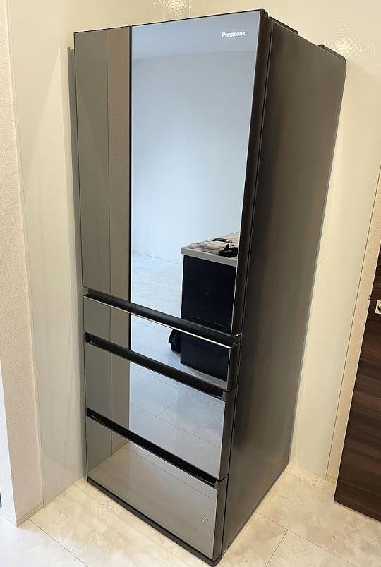 立川市にて 冷蔵庫 パナソニック NR-F555WPX 2019年製 を出張買取致しました
