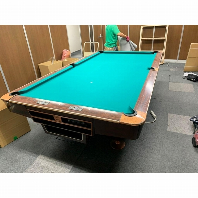 港区にて BRUNSWICK/ブランズウィック ゴールドクラウンⅢ ビリヤード台 を店頭買取しました
