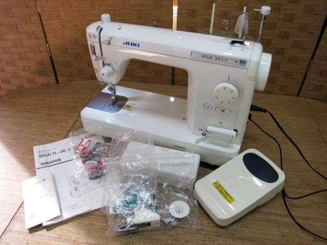 東京都小平市にて JUKI 職業用ミシン SPUR30DX TL-30DX を出張買取しました