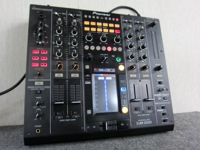 神奈川県 寒川町にて パイオニア DJミキサー DJM-2000 を出張買取しました