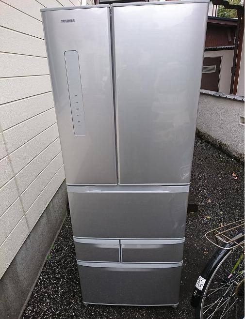 相模原市にて 冷蔵庫 東芝 GR-K50FR 2016年製 を出張買取致しました