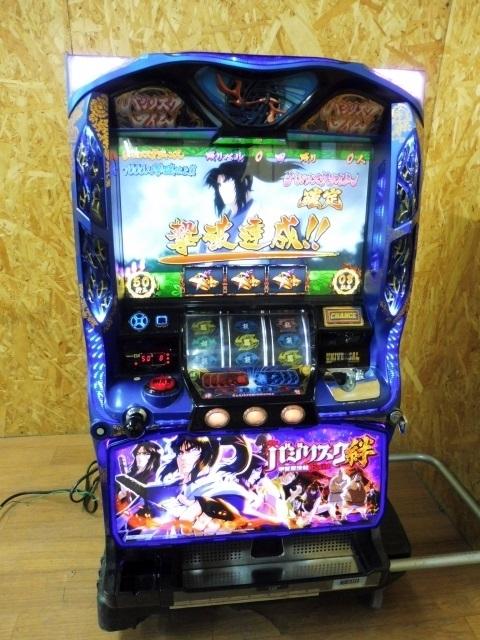 東京都 小平市にて パチスロ実機 バジリスク ~甲賀忍法帖~ 絆MK コイン不要機付き を出張買取致しました