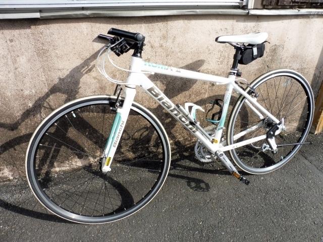東京都八王子市にて ビアンキ 46cm クロスバイク ROMAⅡ を出張買取しました