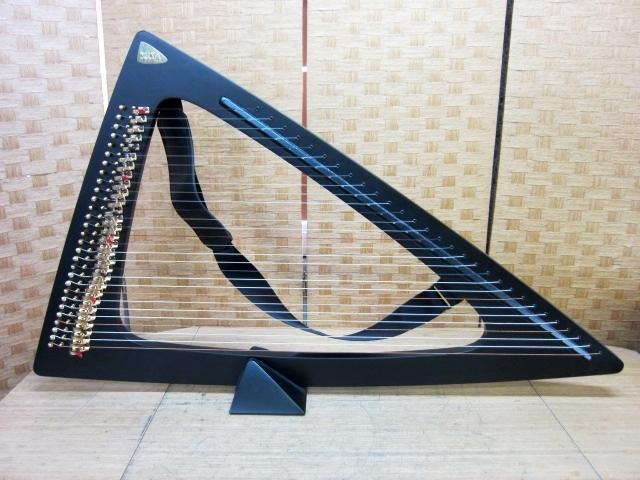 東京都大田区田区にて サルヴィ エレクトリックハープ 29弦 デルタ を出張買取しました