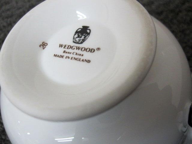 ウェッジウッド ロゴ確認