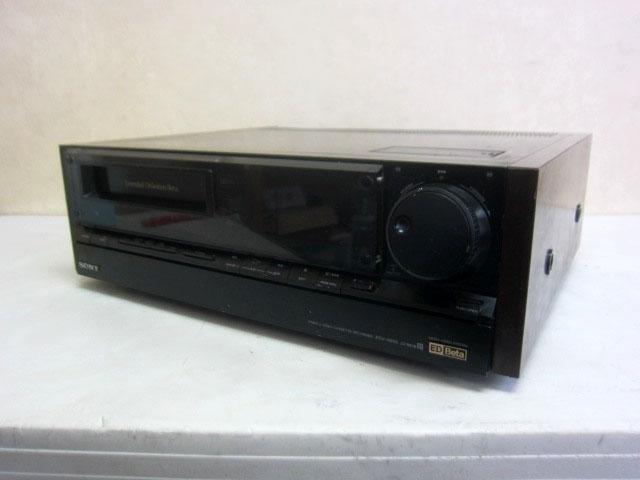 東京都 世田谷区にて SONY ベータビデオデッキ EDV-9000 を店頭買取しました