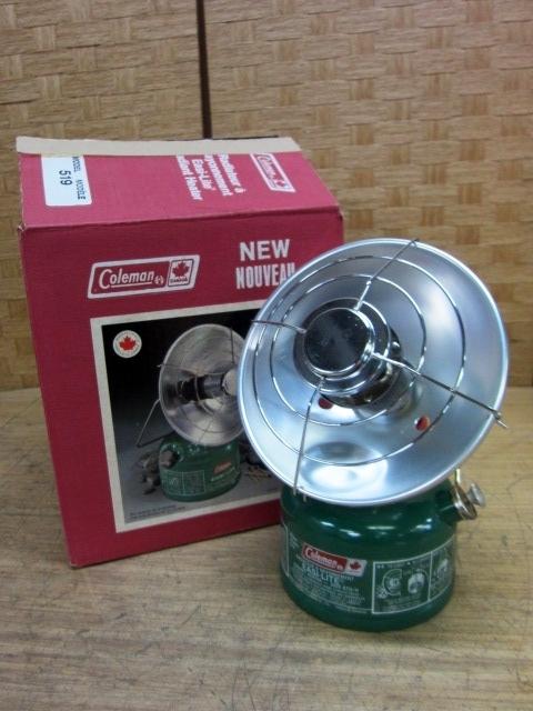 神奈川県大和市にて コールマン ガソリンヒーター MODEL 519 未使用品 を店頭買取しました