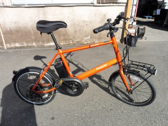 東京都昭島市にて パナソニック ベロスター・ミニ 電動アシスト自転車 ELVS07 を出張買取しました