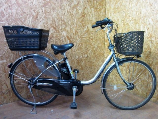東京都世田谷区にて パナソニック 電動アシスト自転車 リチウム 8.9Ah VIVI DX を店頭買取しました