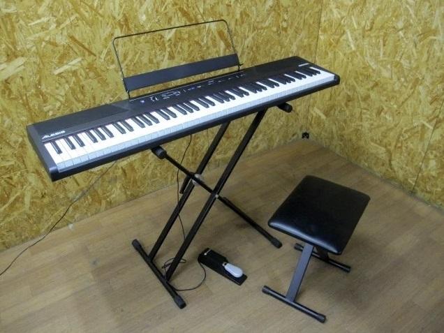神奈川県 川崎市にて アレシス/ALESIS RECITAL 電子ピアノ を出張買取しました