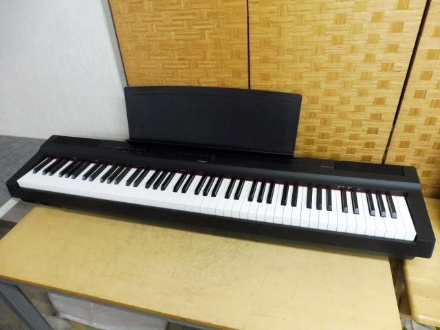 東京都 世田谷区にて ヤマハ 電子ピアノ P-125 2019年製 を出張買取致しました
