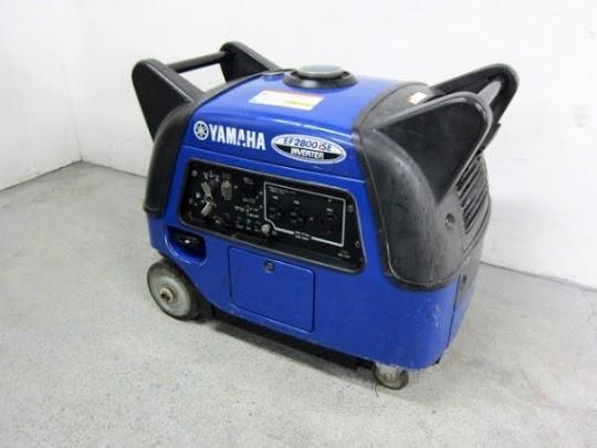 相模原市にて 発電機 ヤマハ EF2800ISE を出張買取致しました