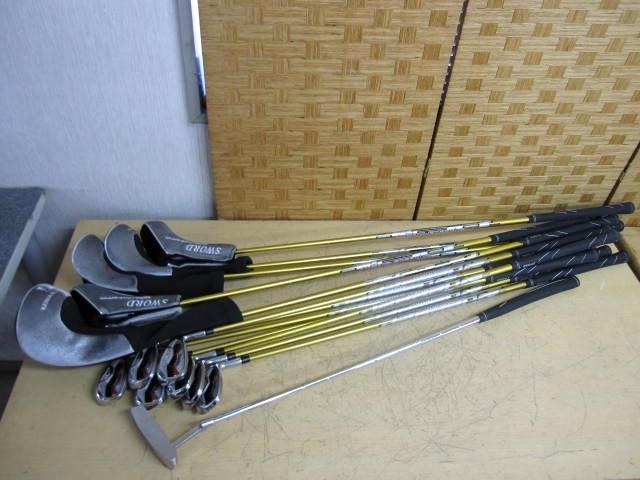 横浜市都筑区にて KATANA/カタナ SWORD Speeder ゴルフクラブ13本セット を出張買取しました