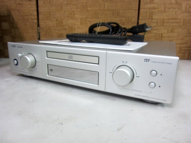 CEC CDプレーヤー CD3800 リモコン付き