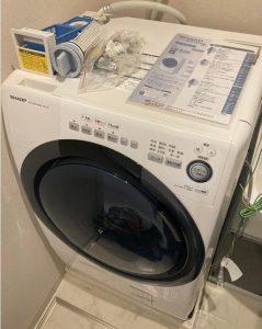ドラム式洗濯機 シャープ ES-S7D 2019年製