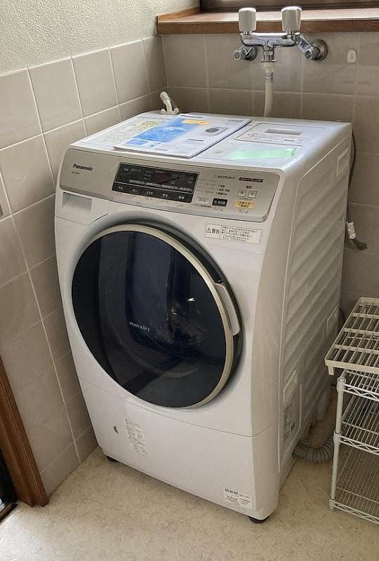 練馬区にて ドラム式洗濯機 パナソニック NA-VH300L 2013年製 を出張買取致しました