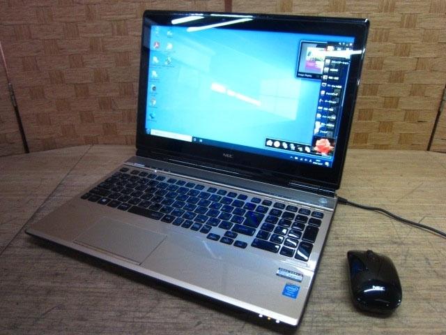 神奈川県 横浜市 瀬谷区にて NEC LaVie L ノートPC PC-LL750MSG Core i7 8GB Win10 を出張買取しました