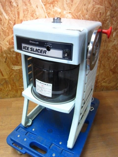 東京都 荒川区にて 中部 氷削機/かき氷機 初雪 HF-300P2 2014年製 を出張買取しました