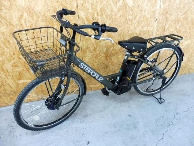 東京都 町田市にて ブリヂストン ステップクルーズ 電動アシスト自転車  を出張買取しました