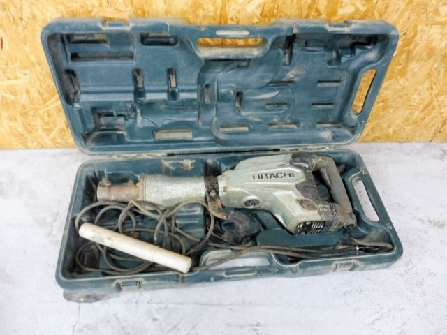 神奈川県 相模原市にて 日立工機 電動ハンマ H65SB3 を店頭買取しました
