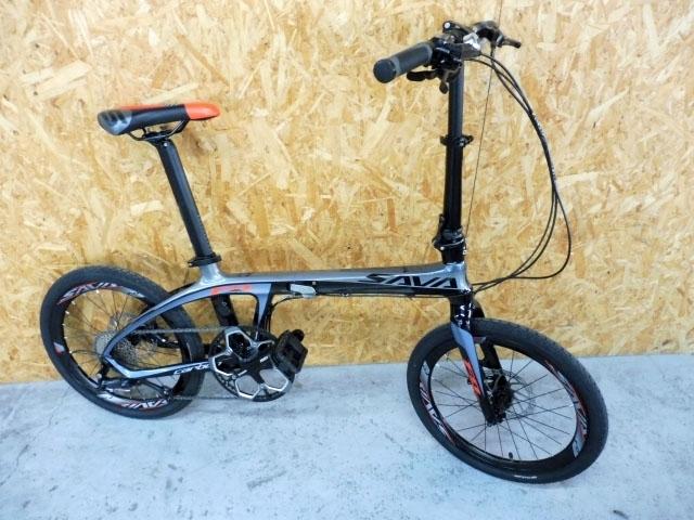 東京都 世田谷区にて SAVANE/サヴァーン Carbon FDB20 SORA 20型 折りたたみ自転車 を店頭買取しました