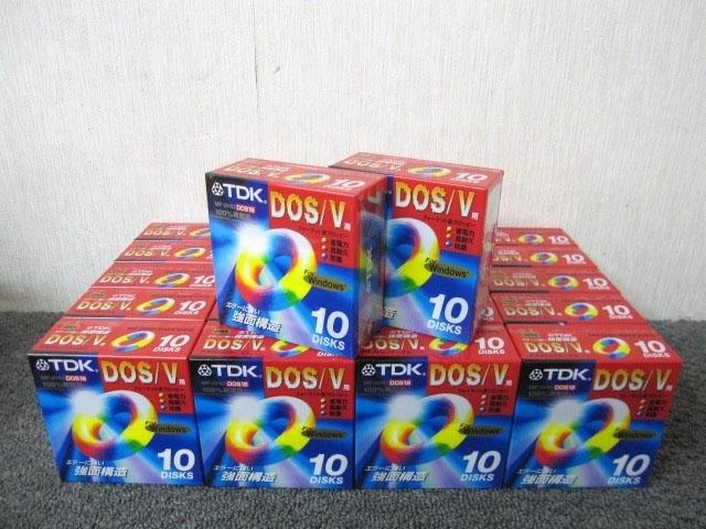 小平市にて TDK 3.5インチ フロッピーディスク MF2HD-BMX10PS 10枚入×22セット を店頭買取致しました
