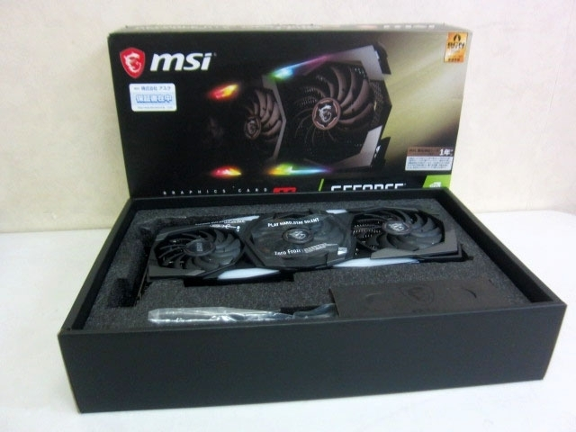 世田谷区にて msi GEFORCE RTX 2080 SUPER GAMING X TRIO グラフィックボード を出張買取しました