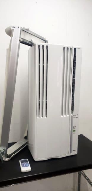 東京都 府中市にて コロナ 冷房専用 ウィンドウエアコン CW-1620 2019年製 を出張買取しました