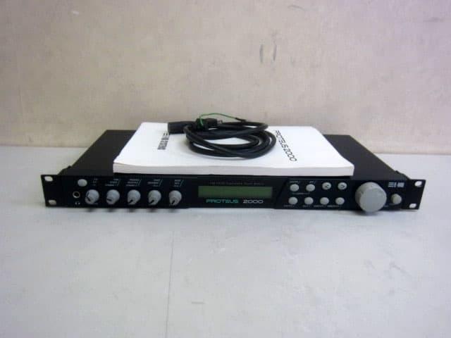 世田谷区にて E-MU PROTEUS 2000 プロテウス MIDI 音源モジュール を店頭買取しました