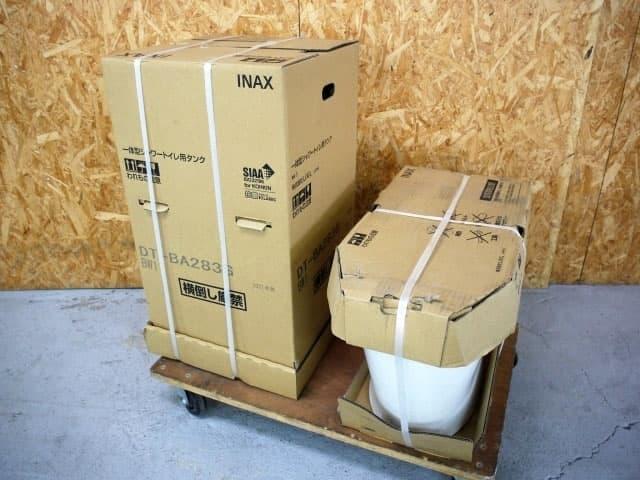 東京都 小平市にて LIXIL INAX ベーシア 一体型シャワートイレ BC-BA20S/DT-BA283G BW1 を店頭買取しました