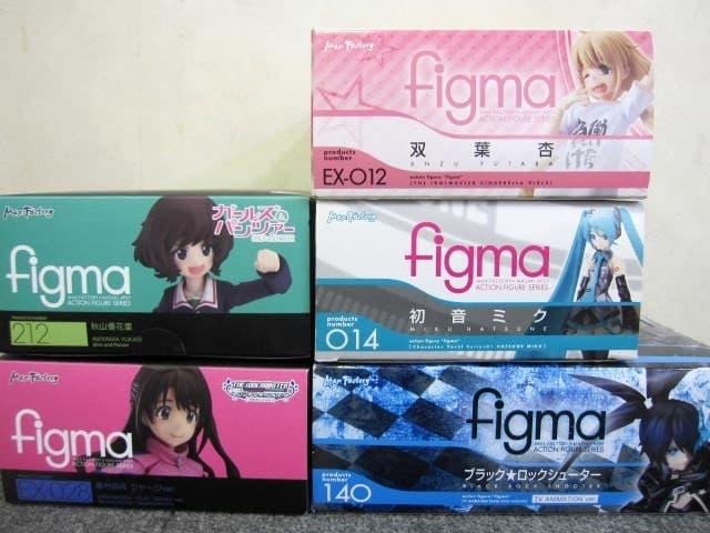 東京都 世田谷区にて figma フィギュア 5体まとめ アイドルマスター他 を店頭買取しました
