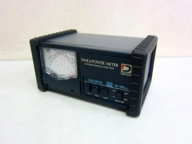 神奈川県 大和市にて ダイワ アマチュア無線用 パワーメーター SWR計 CN-501H を出張買取しました
