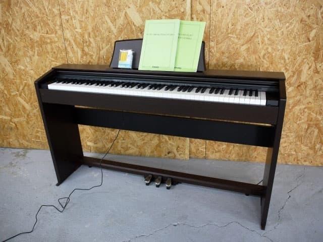 神奈川県 横浜市青葉区にて カシオ Privia 88鍵盤 電子ピアノ PX-770BN 2019年製  を出張買取しました