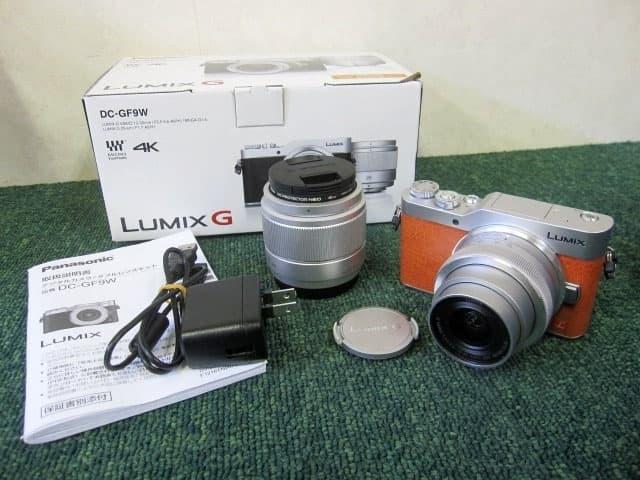 東京都 小平市にて パナソニック ミラーレス一眼カメラ LUMIX DC-GF9W ダブルレンズキット を店頭買取しました
