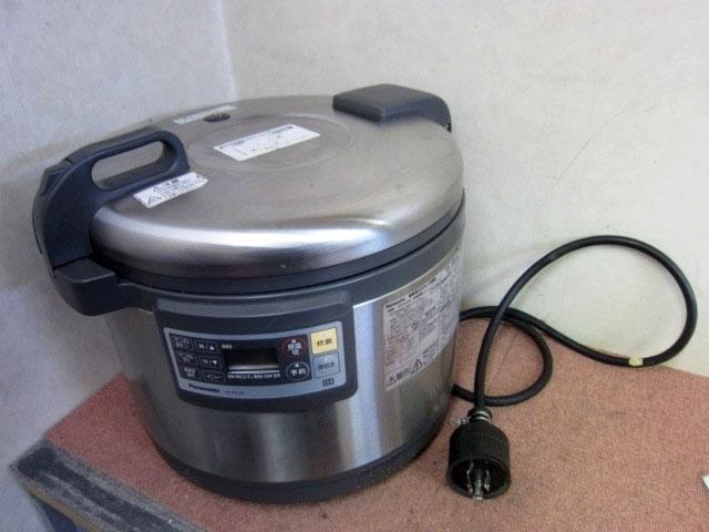 東京都 新宿区にて パナソニック 業務用 5.4L IHジャー炊飯器 SR-PGC54 を出張買取しました