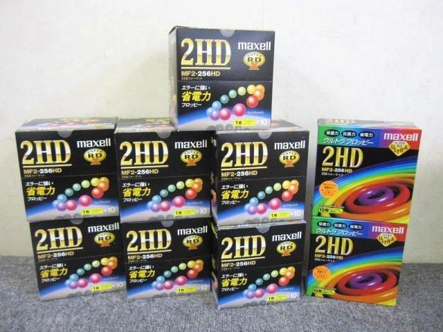 東京都 小平市にて maxell フロッピー MF2-256HD 10枚入り 9箱 を店頭買取しました