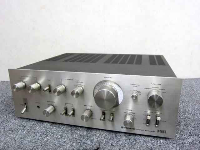 神奈川県 大和市にて パイオニア ステレオプリメインアンプ SA-8800Ⅱ を店頭買取しました