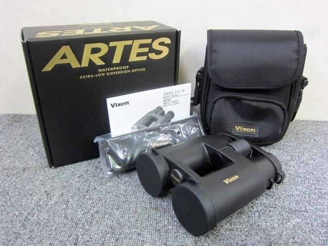 東京都 世田谷区にて VIXEN ARTES 双眼鏡 HR8.5x45WP 7.0° 未使用品 を店頭買取しました