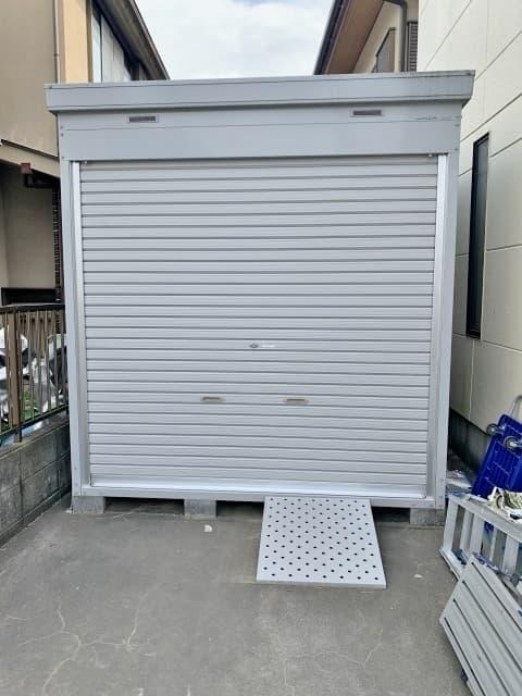 埼玉県 さいたま市にて イナバ物置 バイクガレージ 2015年製 を出張買取しました