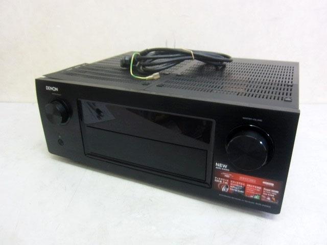 神奈川県 相模原市にてデノン AVサラウンドレシーバー AVR-X4000 難あり品 を店頭買取しました