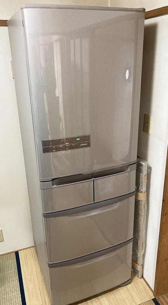 東京都 練馬区にて 冷蔵庫 日立 R-K40H 2018年製 を出張買取致しました