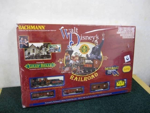 ウォルトディズニー BACHMANN WALT DISNEY'S RAILROAD LILLY BELLE 鉄道模型