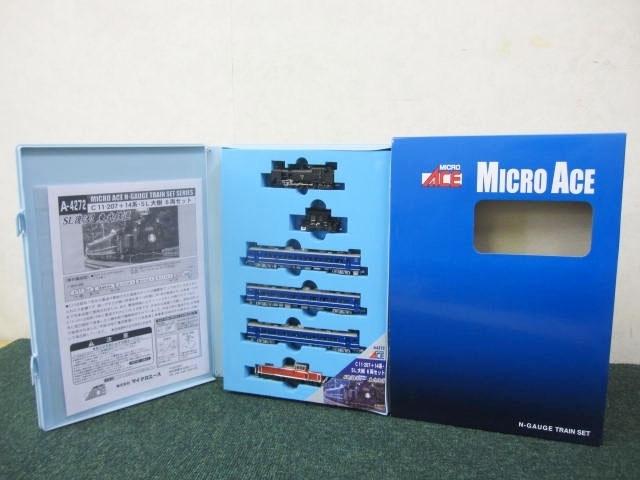 東京都 墨田区より MICRO ACE/マイクロエース C11-207 +14系 SL 大樹 6両セット 東武鉄道  を出張買取しました