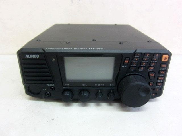 東京都 八王子市にて アルインコ オールドバンドオールモード 無線機 DX-R8 電源コード欠品 を店頭買取しました