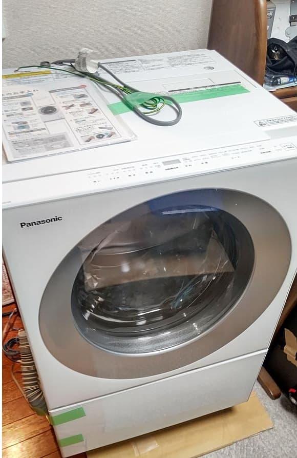 東京都 東大和市にて パナソニック ドラム式洗濯機 NA-VG710L 2017年製 を出張買取しました
