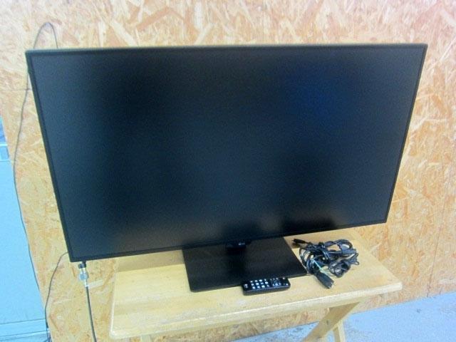 東京都 新宿区にて LG 42.5インチ 4K 液晶モニタ ディスプレイ 43UN700-B 2020年製