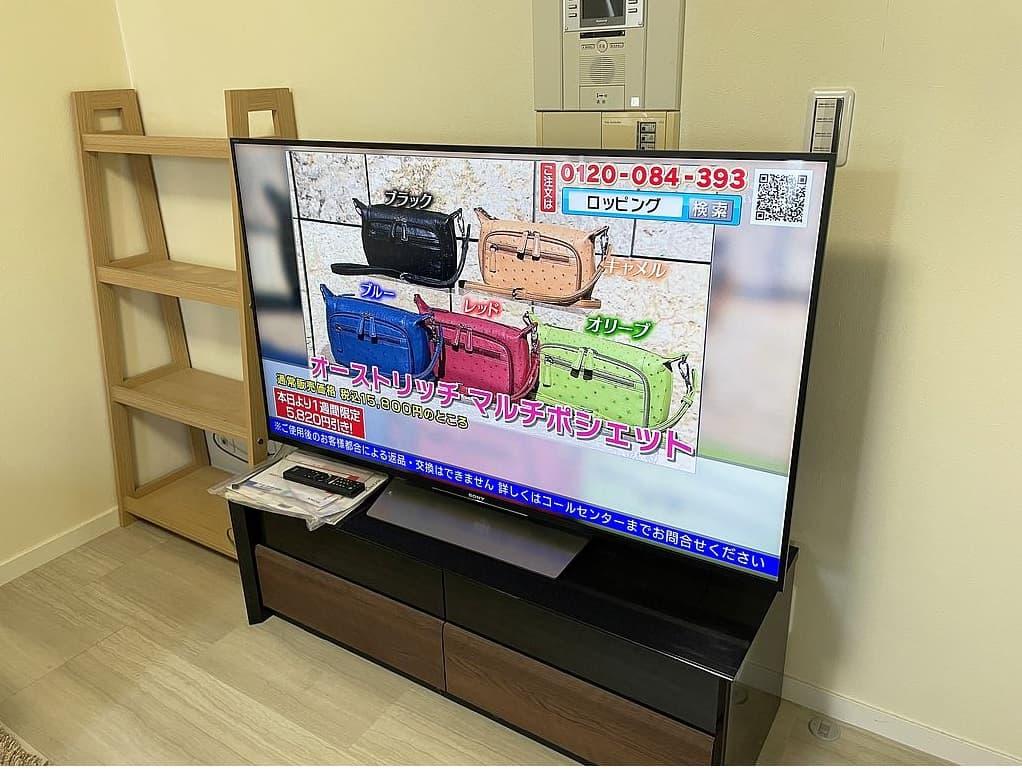 東京都 杉並区にて SONY 液晶テレビ KJ-55X8500D 2016年製 を出張買取しました