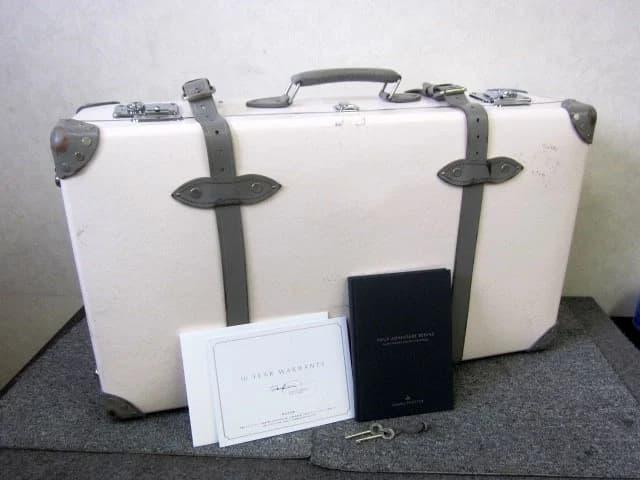 東京都 港区にて グローブトロッター/GLOBE TROTTER スーツケース エミリア チェルシーピンク を出張買取しました