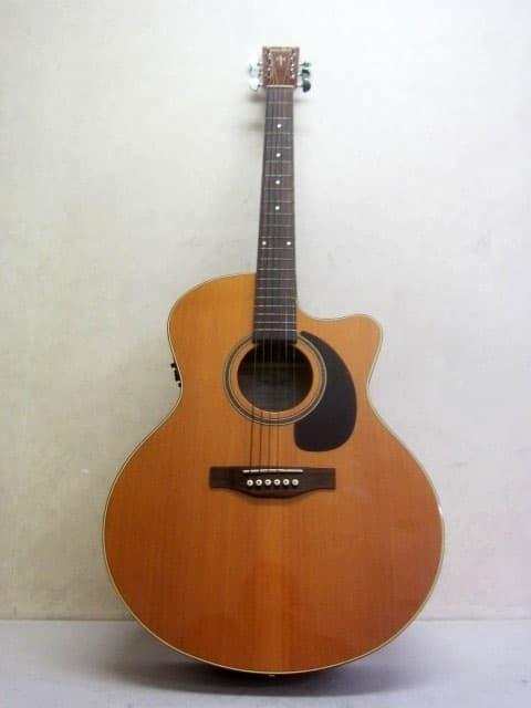 東京都 大田区にて サイモン&パトリック アコースティックギター CW GT Mini Jumbo Cedar A3T を出張買取しました